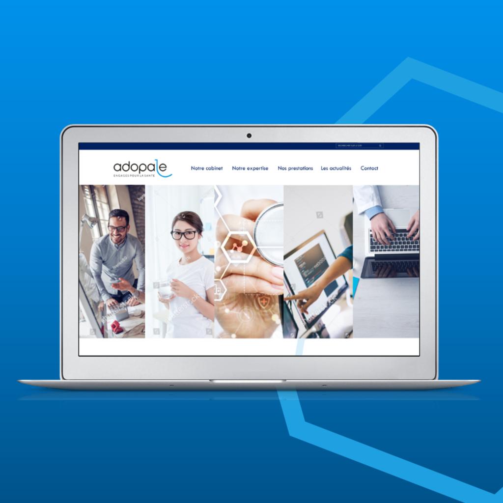 Site WordPress Adopale