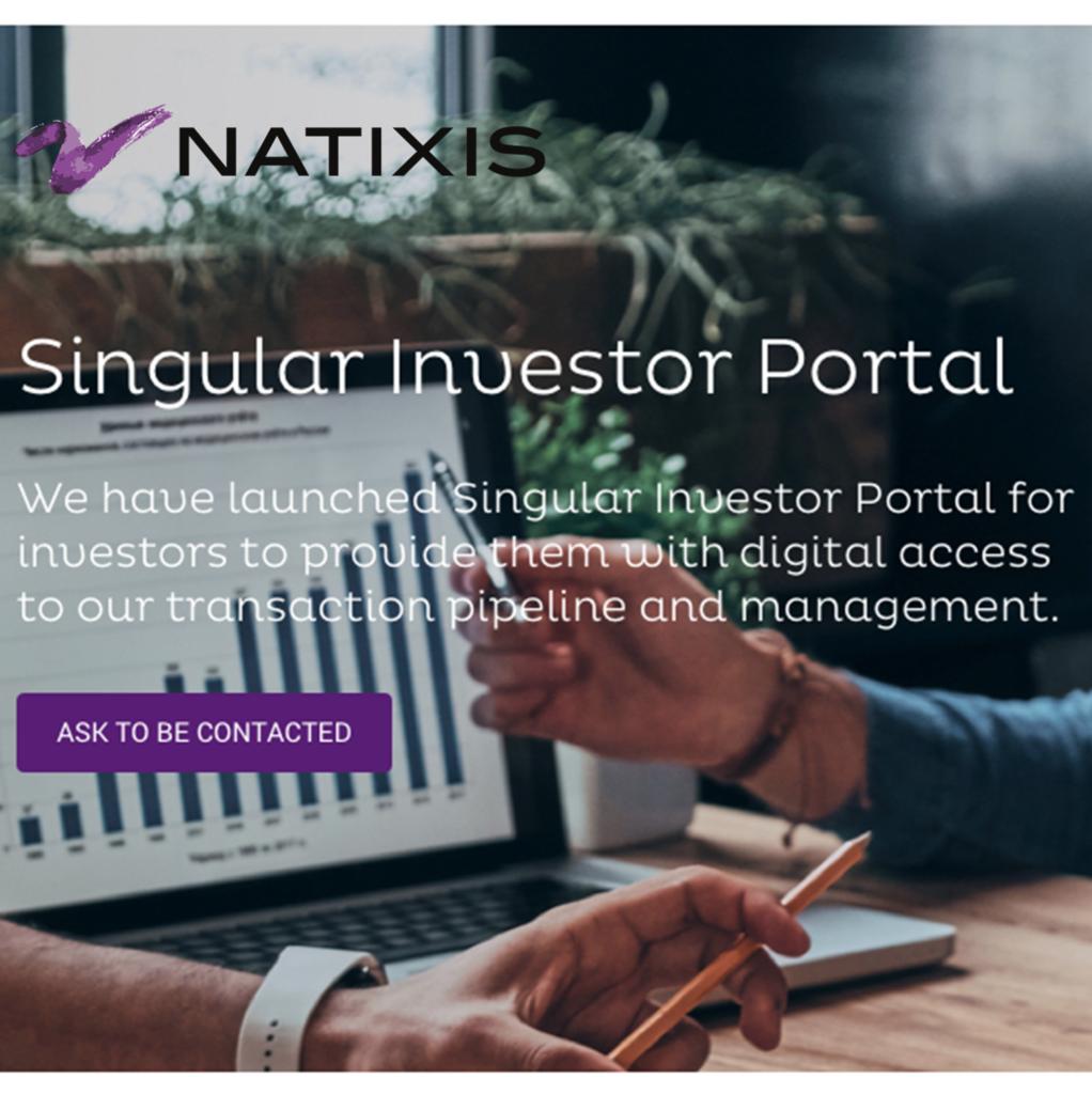 Ergonomie site Natixis UX / UI