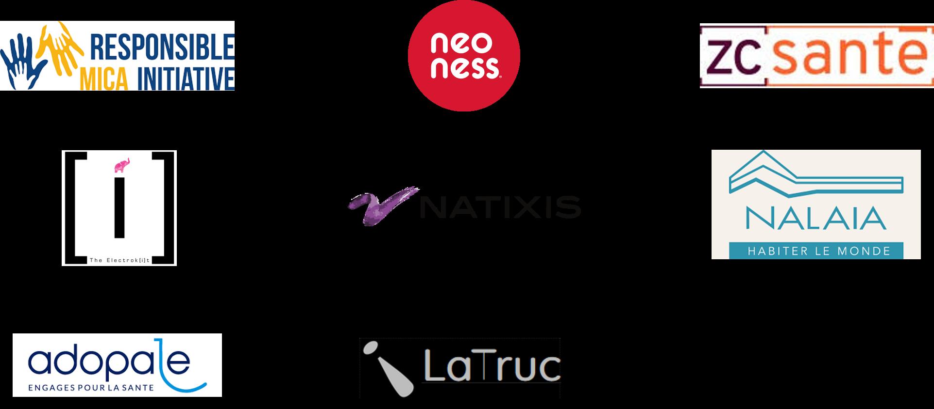 Logos clients La Colline