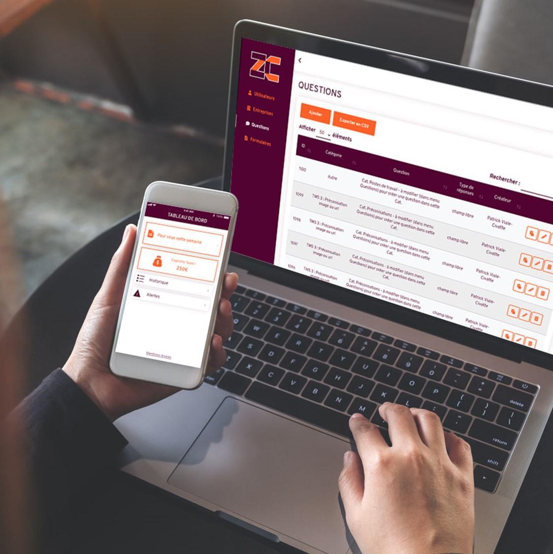 ZC Santé - App mobile